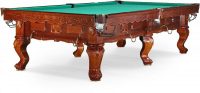"Бильярдный стол для русского бильярда Weekend Billiard Company ""Gogard"" 10 ф (орех пекан)"