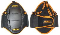 Защита спины Etto Junior black 5 пластин