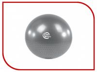 Мяч гимнастический + массажный Lite weights BB010-26 (65см, с насосом, серебро)