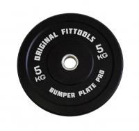 Диск бамперный Original Fit.Tools 5 кг (черный)