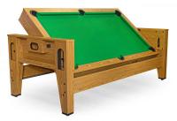 "Игровой стол - трансформер (пул + аэрохоккей) Dynamic Billard ""Twister"" (Дуб)"
