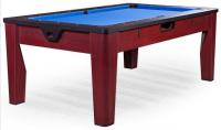Многофункциональный игровой стол 6 в 1 DBO «Tornado» (коричневый)