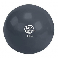 Медбол Lite weights 5кг 1705LW, антрацит