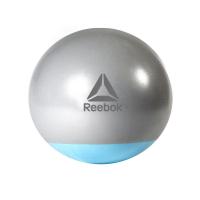 Гимнастический мяч Reebok серо-голубой
