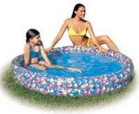 Бассейн надувной Moove&Fun Цветы