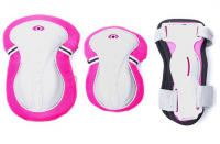 Защита комплект Puky Junior Set Pink (XS размер) розовый