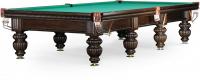 """Бильярдный стол для снукера Weekend Billiard Company """"Tower"""" 12 ф (черный орех)"""