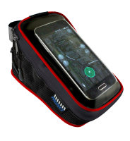 Велосумка Puky для мобильного телефона на раму, touch screen пленка