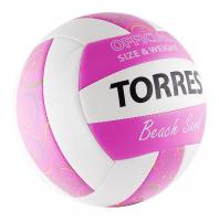Мяч TORRES Beach Sand Pink
