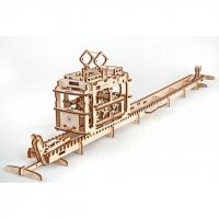 3D-пазл UGEARS Трамвайная линия (Tram Line)