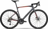 Велосипед BMC Roadmachine RM01 THREE Ultegra Di2 Grey/Black/Orange (2019)