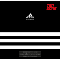 Накладка Adidas Ten Zone 2.0мм (черный)