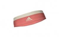Повязка на голову Adidas 2 цвета (красн. и бел.)