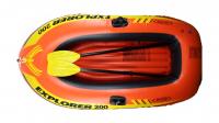 Лодка надувная двухместная Intex EXPLORER, 198х117 см