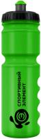 Спортивная бутылка Оливин Спортивный элемент S17-750, зеленый