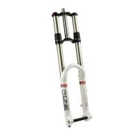 RST Вилка аморт. R-ONE, для DH/FR, 26; масло OCR Platform/пружина/эластомер; шток 1-1/8; алюминий/магниевый сплав; ход 180мм., тормоза: D; регулировки: R/C/F, полая ось 20мм; вес 3,28кг; чёрная