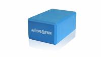 Блок для занятий йогой Moove&Fun голубой