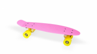 "Скейт пластиковый 22х6"" Moove&Fun розовый"
