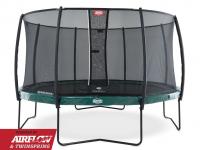 Батут BERG  Elite Green 430 + сетка Deluxe (37.34.07.00+35.72.24.02)
