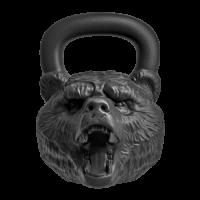 "Гиря с характером Heavy Metal ""Медведь"" 24 кг"
