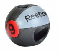 Медицинский мяч Reebok с рукоятками, 9 кг