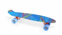"""Скейт пластиковый 22х6""""-18 Moove&Fun синий"""
