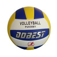 Мяч волейбольный DOBEST PU038 клеенный