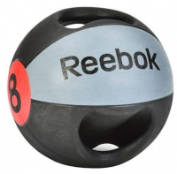 Медицинский мяч Reebok с рукоятками, 8 кг
