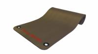 Коврик для аэробики и йоги 12,5 мм NBR серый Original Fit.Tools 1800х610х12,5 мм