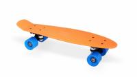 """Скейт пластиковый 22х6"""" Moove&Fun оранжевый"""