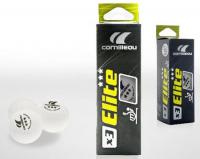 Мячи Cornilleau Elite ITTF 3 шт. 40 мм (белый)