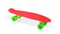 "Скейт пластиковый 22х6"" Moove&Fun красный"