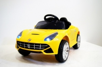 Электромобиль RiVeRToys Ferrari O222OO (кожа) с дистанционным управлением