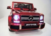 Электромобиль RiVeRToys Mercedes-Benz G63 (ЛИЦЕНЗИОННАЯ МОДЕЛЬ) с дистанционным управлением