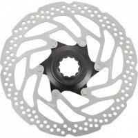 Тормозной диск велосипедный Shimano RT30, 180мм, C.Lock, только для пласт колод ESMRT30M
