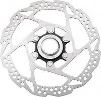 Тормозной диск велосипедный Shimano RT54, 160мм, C.Lock, только для пласт колод ESMRT54S