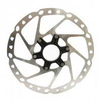 Тормозной диск велосипедный Shimano Deore RT64, 160мм, C.Lock ESMRT64