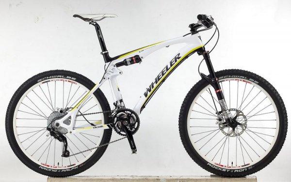 2012 Велосипед Wheeler Falcon 10 Carbon 30-скоростей