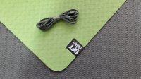 Мат Original Fit.Tools для йоги 6 мм двухслойный зеленый-черный