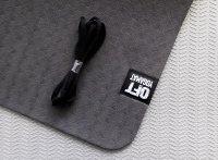 Мат Original Fit.Tools для йоги 6 мм двухслойный черный-серый