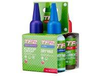 Смазки WELDTITE TF2 4x50мл TF2, оригинальная компактная упаковка, в комплекте 4 вида смазки в 50мл бутылочках нового ...
