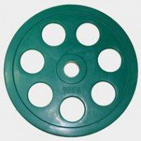 Олимпийский диск евро-классик с хватом Ромашка, Oxygen 10 кг.