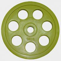 Олимпийский диск евро-классик с хватом Ромашка, Oxygen 15 кг.