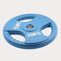 Олимпийский диск евро-классик с тройным хватом Oxygen 20 кг.