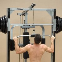 Опция верхняя тяга Body Solid Powerline PLA144