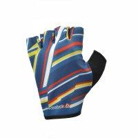 Женские перчатки для фитнеса Reebok без пальцев, цветные