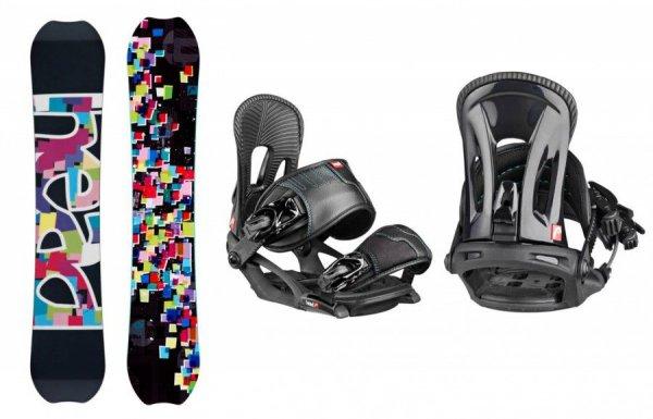 Комплект: сноуборд+ крепления Head FLAIR FLOCKA LGCY+ NX FAY I black (Сезон 14-15)