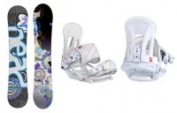 Комплект: сноуборд+ крепления Head SPRING ROCKA LGCY+ NX FAY I white (Сезон 14-15)