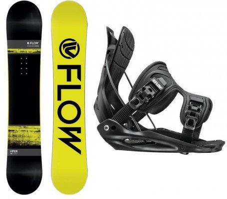 Комплект сноуборд+ крепления Head Viper +Flite Black (Сезон 14-15)