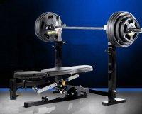 Силовая скамья со стойками Powertec WB-OB11